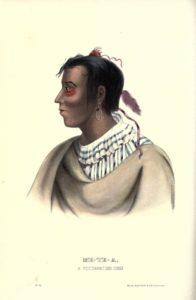 El líder Potawatomi Metea
