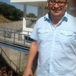 Prof. de U-M Rafael Meza, al frente de la planta de tratamiento de aguas del Valle de Mezquital.