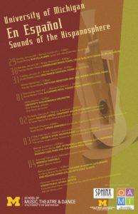 Con recitales, clases magistrales, celebran la música clásica hispana en Universidad de Michigan