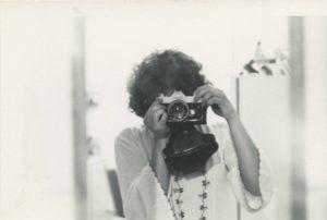 Autorretrato de Nancy De Los Santos. Circa 1975. Crédito de foto: Nancy De Los Santos