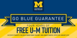 U-M anuncia garantía de ayuda financiera para estudiantes necesitados del estado