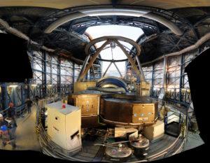 Un nuevo planeta similar a Júpiter fue captado en Chile utilizando el Telescopio Muy Grande (Very Large Telescope, VLT) operado por el Observatorio Europeo del Sur. Para hacerlo, los astrónomos utilizaron este instrumento del VLT llamado SPHERE (búsqueda de exoplanetas con espectro-polarimetría de alto contraste). Crédito de imagen: ESO/SPHERE consortium