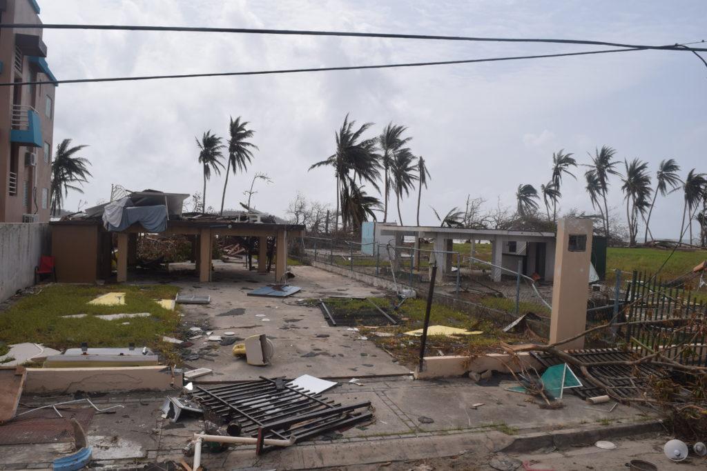 Punta Santiago, ubicada en Humacao, en la isla principal de Puerto Rico, sufrió graves daños durante el huracán María. Crédito de foto: Will O'Hearn