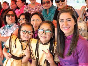 Rachel Hatch está en Mongolia como voluntaria del Cuerpo de Paz. Crédito de la foto: Rachel Hatch