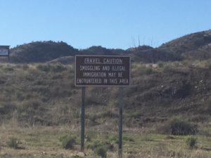 Sherrie Kossoudji y sus estudiantes viajaron a la frontera de EE.UU-México para examinar la frontera y inmigración ilegal.