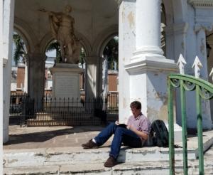 Andrew Rutledge, un estudiante de doctorado, ocupará su Fulbright para investigar la piratería entre Jamaica y Cuba en los 1700s.