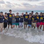 Estudiantes de percusión en la escuela de música, teatro y danza de la Universidad de Michigan (SMTD por sus siglas en inglés) en un viaje a Cuba que incluyó  Havana, Trinidad y Varadero, en la primavera del 2017.