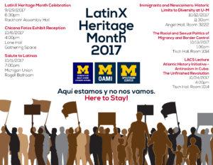 Mes de la Herencia Hispana 2017