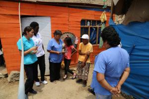 Detección y tratamiento en Lima, Perú. Crédito de foto: Organización Panamericana de la Salud