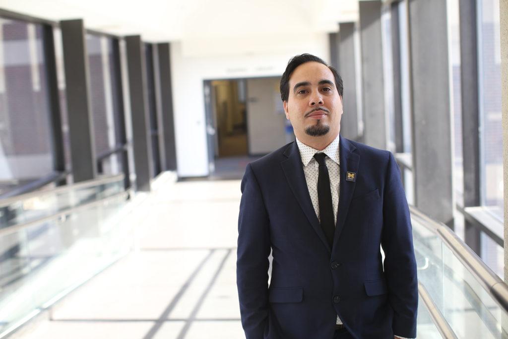 Edras Rodríguez-Torres nació en Puerto Rico, pero creció en Grand Rapids, Mich.