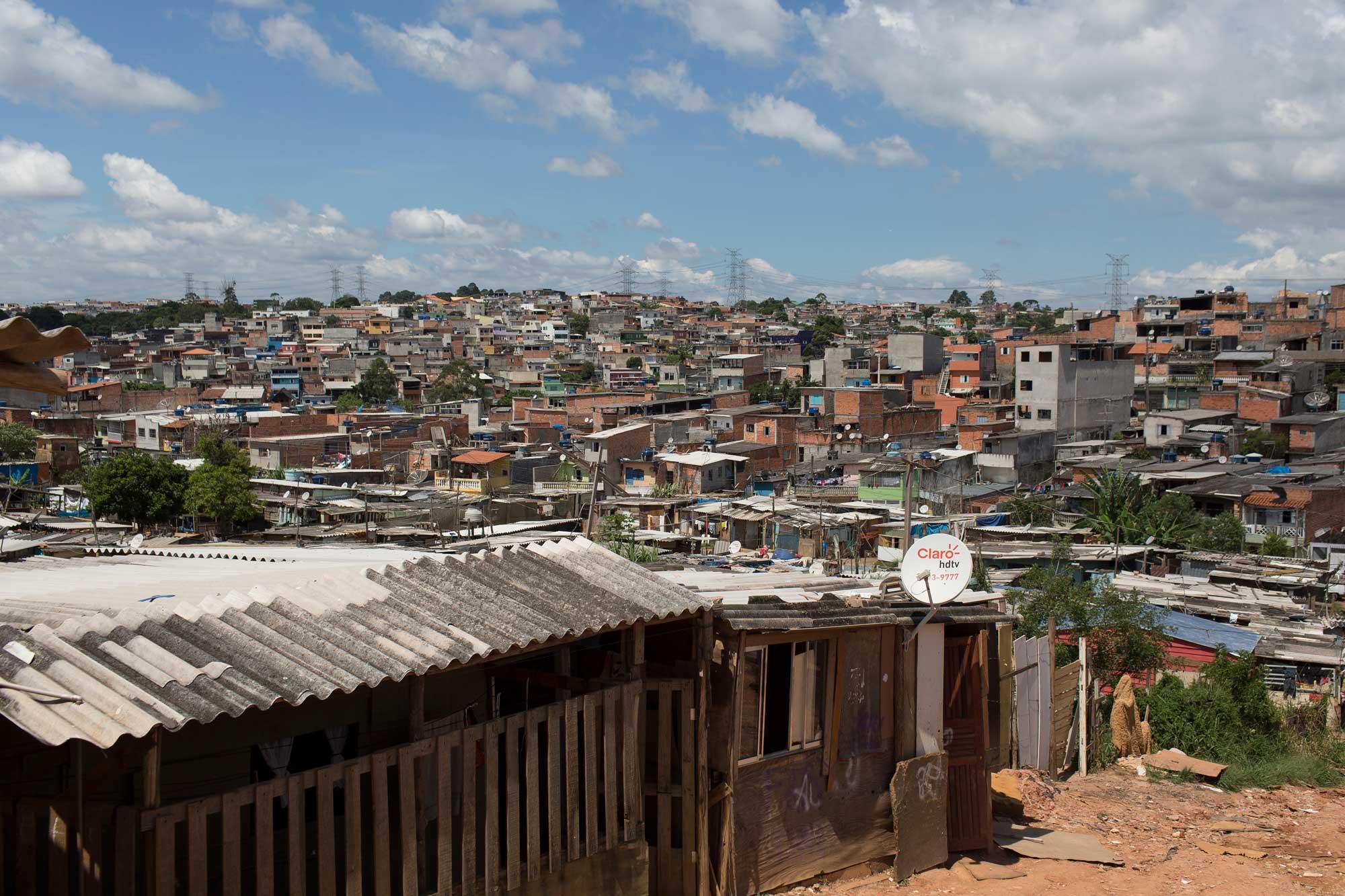 Ocupacão Anchieta, en Sao Paulo, Brasil. Crédito de foto: Bruno Kelly