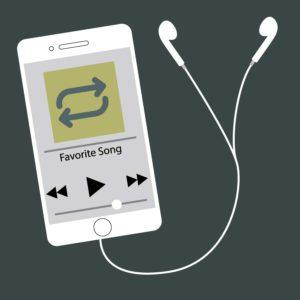 La gente encuentra consuelo escuchando las mismas canciones una y otra vez