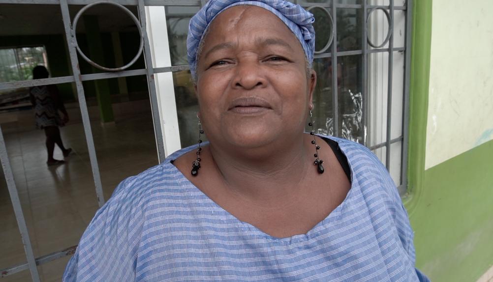 Matilde Montaño Arce, una líder comunitaria en Borbón, dijo que tener pollos de engorde ha proporcionado seguridad alimentaria y económica a su comunidad.Courtesy of Jay Graham, Oakland Public Health Institute