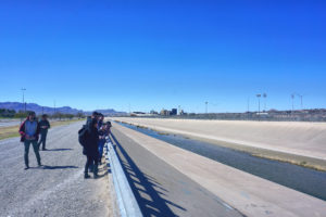 Vista del Río Grande desde Juárez. Foto de Shane Donnelly, Taubman College of Architecture and Urban Planning.