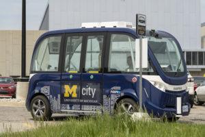 Minivan autónoma llega a la Universidad de Michigan