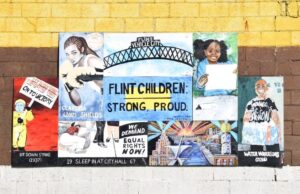 Arte en Flint. Crédito de foto Rachel Francisco