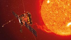 Ilustración del Solar Orbiter.